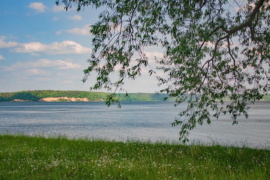Samylų poilsiavietė Kauno marių krante