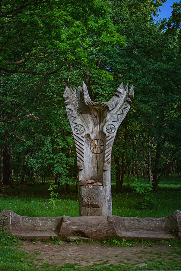 Kauno Ąžuolynas, ąžuolyno parkas