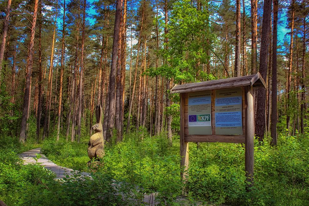 Sakiškių pažintinis takas, poilsiavietė netoli Vilniaus