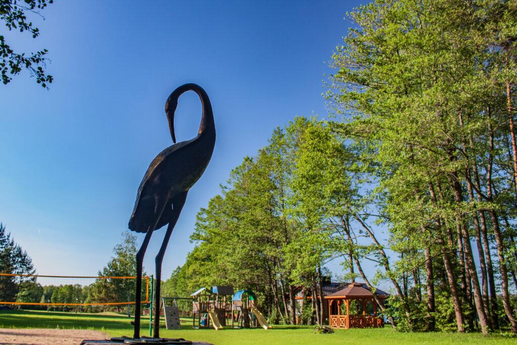 Veršių poilsiavietė prie Avirio ežero