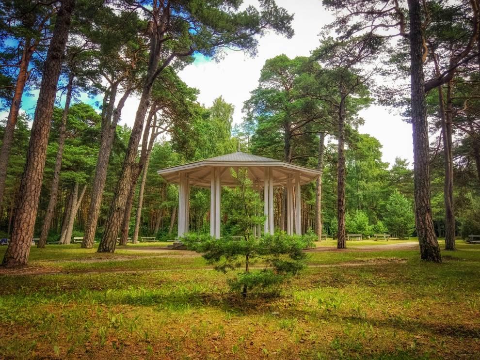 Palangos Gintaro muziejus, botanikos parkas