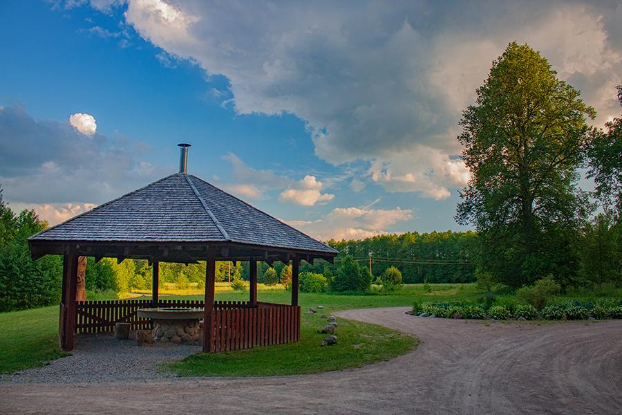 Kaltanėnų dvaro parkas Rytų Lietuvoje